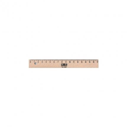 Kleines Holzlineal, 17 cm