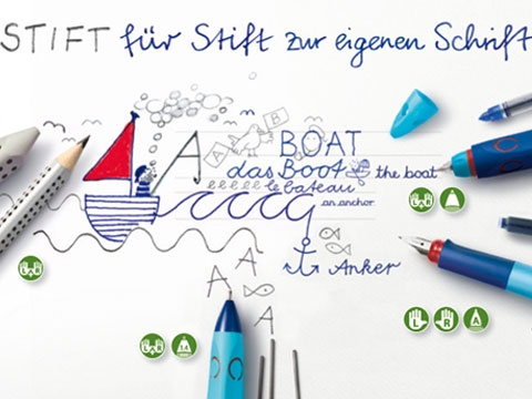 Faber Castell: Stift zur Stift zur eigenen Schrift
