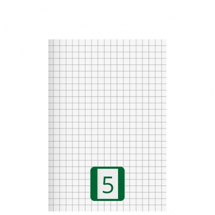 Kleines Schulheft, Lineatur 5, A5