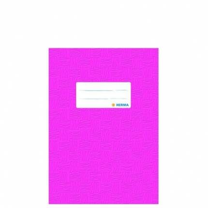 Heftschoner A5, pink gedeckt, Herma