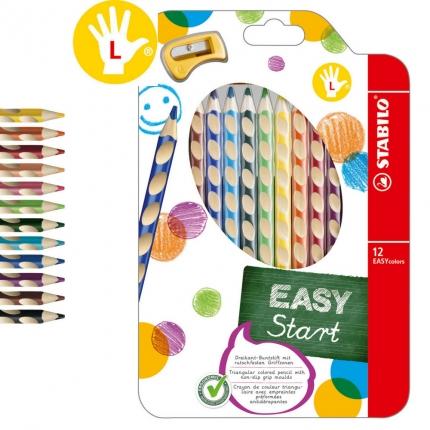 Stabilo Buntstifte Linkshänder, 12er Pack