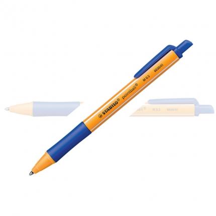 Stabilo pointball blau, Kugelschreiber