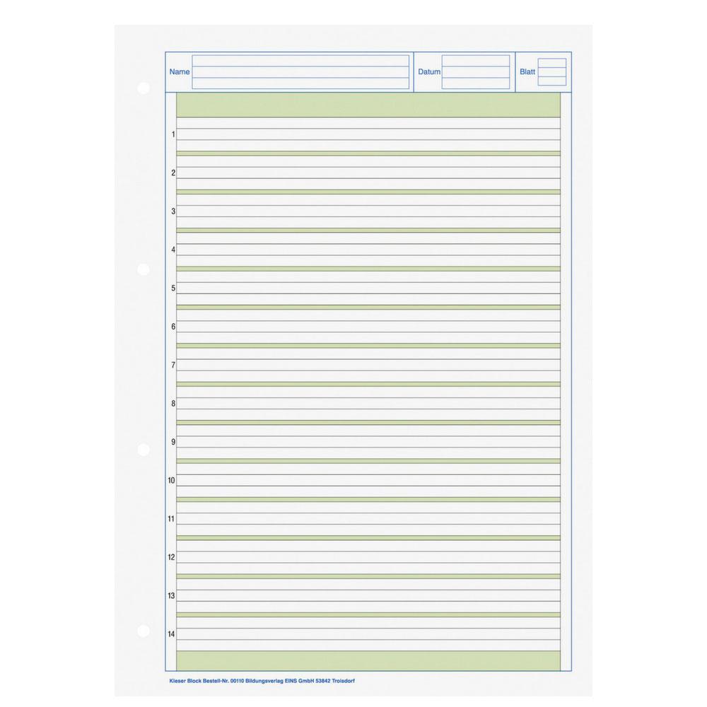 lineatur klasse 1 querformat zum ausdrucken  handwriting