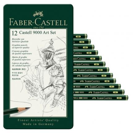 Faber-Castell Bleistift-Set, Art 9000