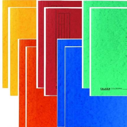 Colorspan-Schnellhefter von Falken, 2 x 5 Farben