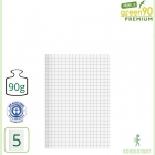 Premiumheft Recycling A5, green90, Lineatur 5