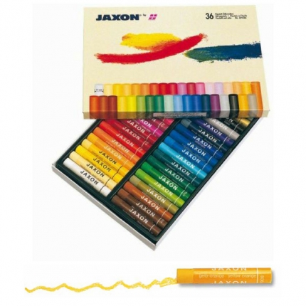 Ölpastellkreide Jaxon, 36 Farben