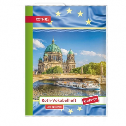 Roth Vokabelheft Klapp-up A5, für alle Sprachen