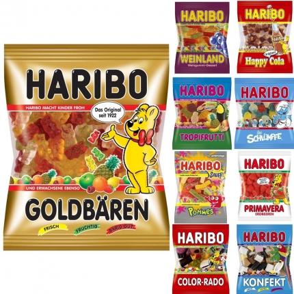Haribo, 100 g Tüte, verschiedene Sorten