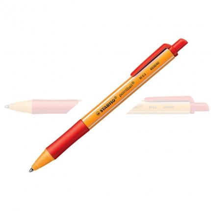 Stabilo pointball rot, Kugelschreiber