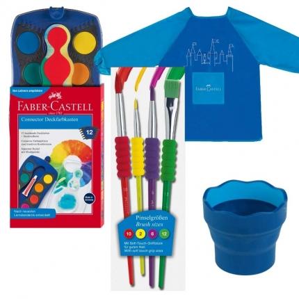 Faber-Castell-Malset, blau