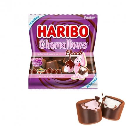 Haribo Chamallows Choco, Belgien-Import, 75 g