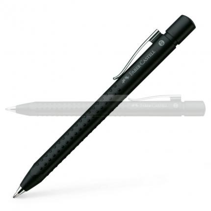 Faber-Castell Kugelschreiber Grip 2011, schwarz matt