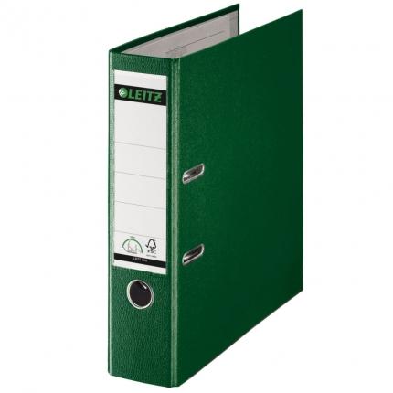 Leitz Ordner PP grün, breit, 8 cm