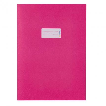 Heftschoner aus Recyclingpapier, A4 pink