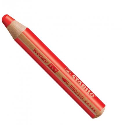 BB Buntstifte für Kleinkinder: Stabilo woody rot - 310