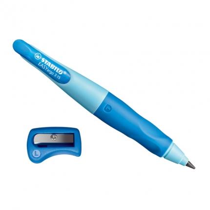 BB Stabilo EASYergo 3.15 blau mit Spitzer, Linkshänder