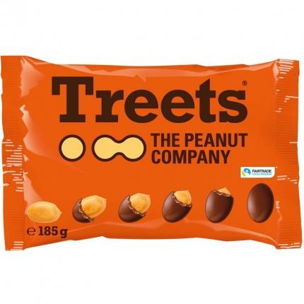 Treets Peanuts, 185 g