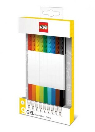 LEGO Gelstifte bunt, 9er Pack