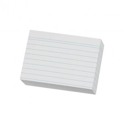 Karteikarten A8 liniert, 100er Packung