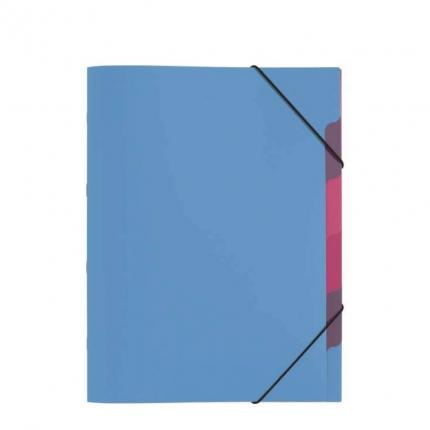 Pagna Ordnungsmappe, 5-teilig hellblau