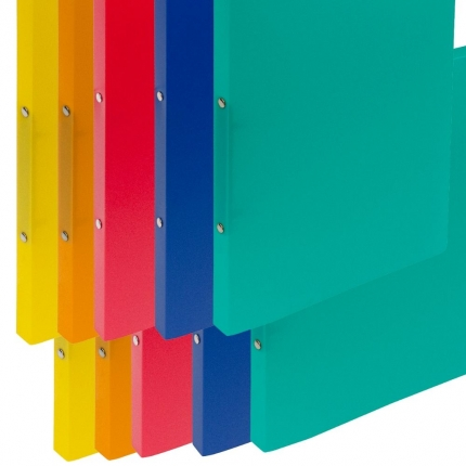 Ringhefter Plastik, 2 x 5 Farben