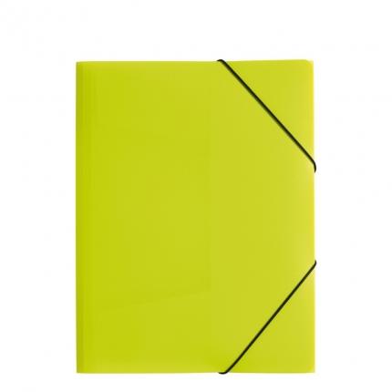 Jurismappe Plastik A4, lindgrün, Pagna