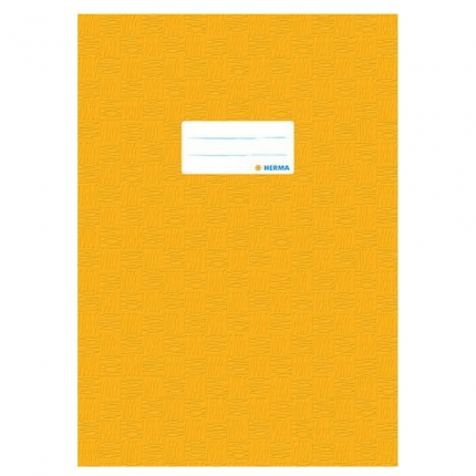 Heftschoner A4, gelb gedeckt, Herma