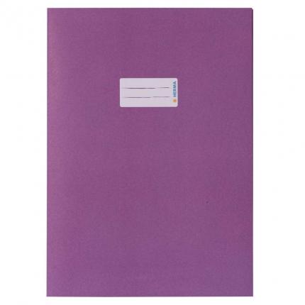 Heftschoner aus Recyclingpapier, A4 violett