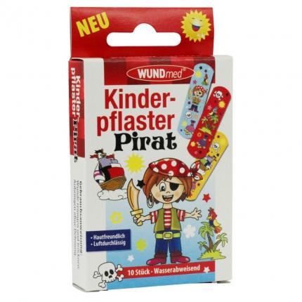 """Kinderpflaster """"Pirat"""", 10 Stück wasserfest"""