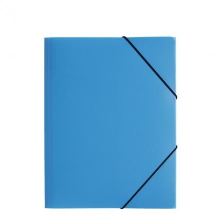 Jurismappe Plastik A4, hellblau, Pagna