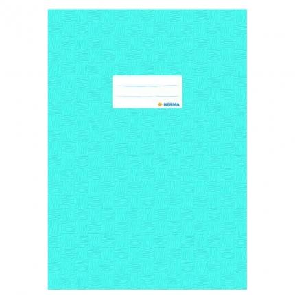 Heftschoner A4, hellblau gedeckt, Herma