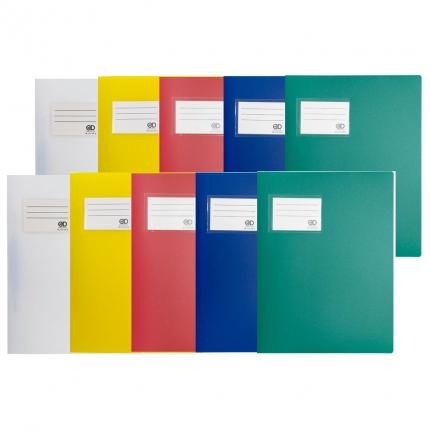 Fester Plastik Schnellhefter, 2 x 5 Farben