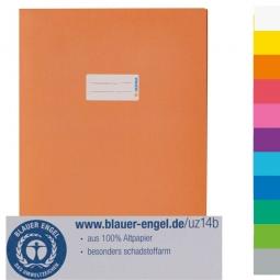 Heftschoner aus Recyclingpapier, A4, Herma