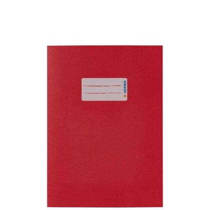 Heftumschlag Papier UWF, A5 rot