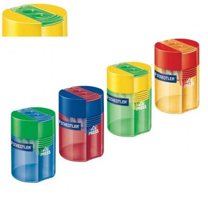 Staedtler Dosenspitzer mit 2 Löchern, farbig sortiert
