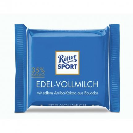 Ritter Sport mini Edel-Vollmilch, 16,67 g
