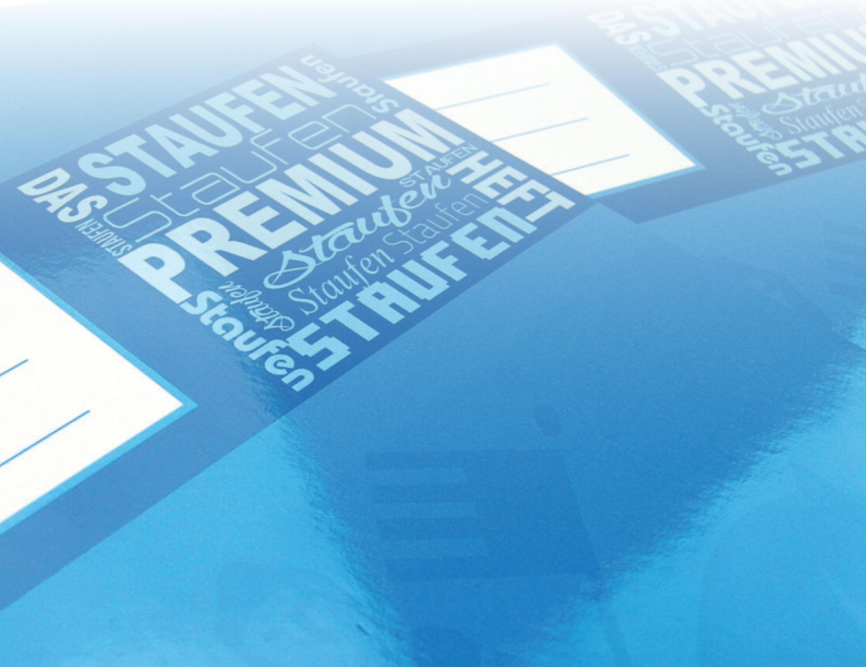Top in Qualität und Preis: Das Premium-Heft von Staufen