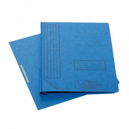 Falken Schnellhefter aus Karton, blau