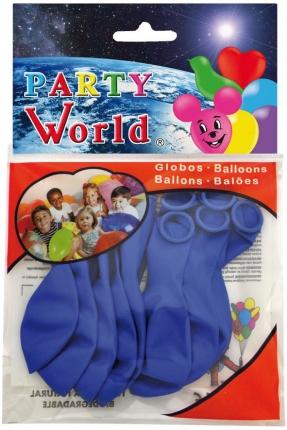 Luftballons, blau, 10 Stück
