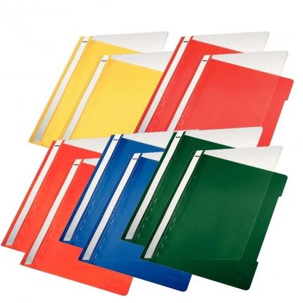 Leitz Schnellhefter PVC, 2 x 5 Farben