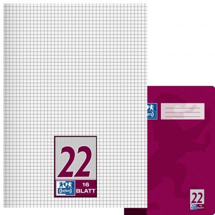 Oxford Heft Lineatur 22, kariert, A4