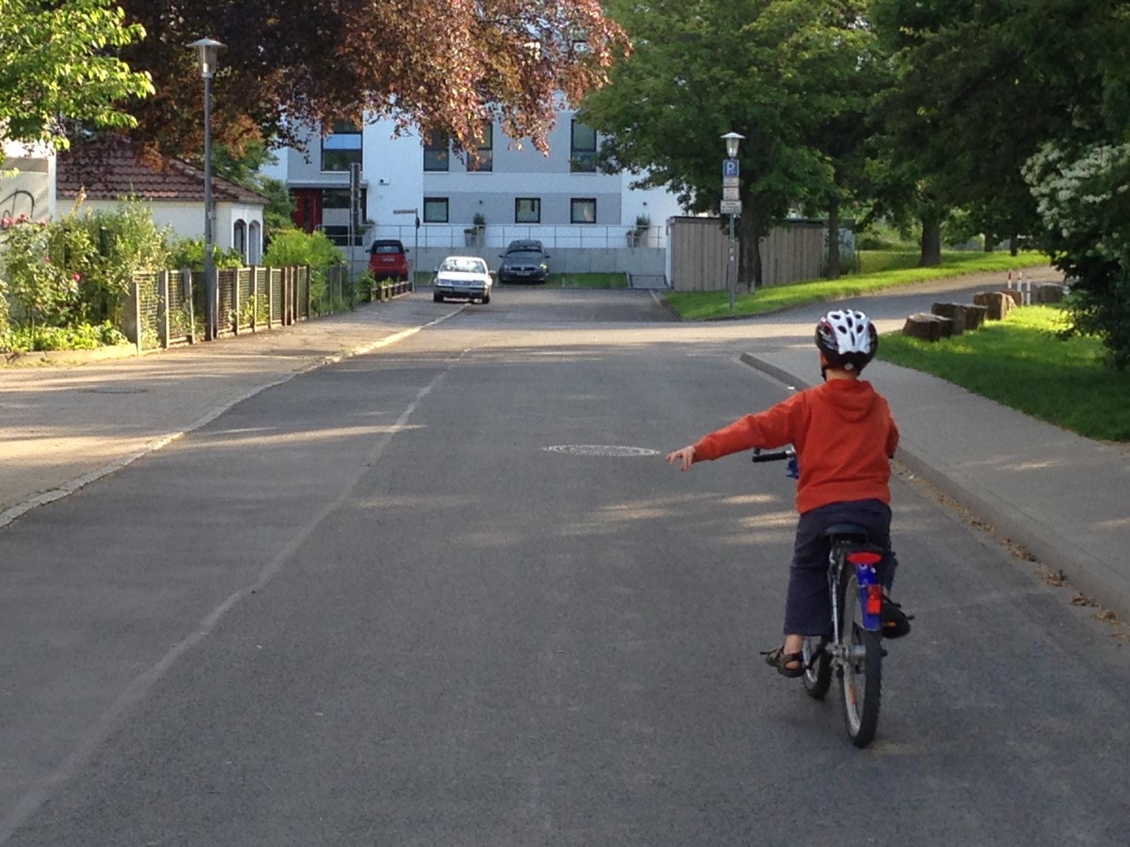 fahrrad-abbiegen
