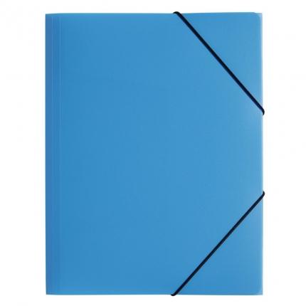 Sammelmappe Kunststoff A3, hellblau, Pagna