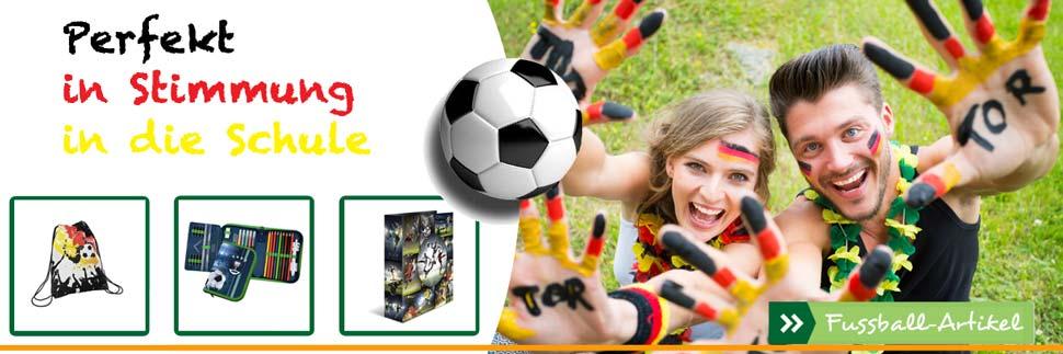 Tip in Stimmung mit unseren Fussball-Artikeln!