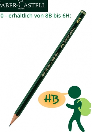 BB Faber-Castell Bleistift HB