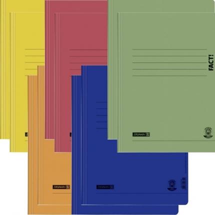 Umweltschutz Schnellhefter Brunnen, 2 x 5 Farben