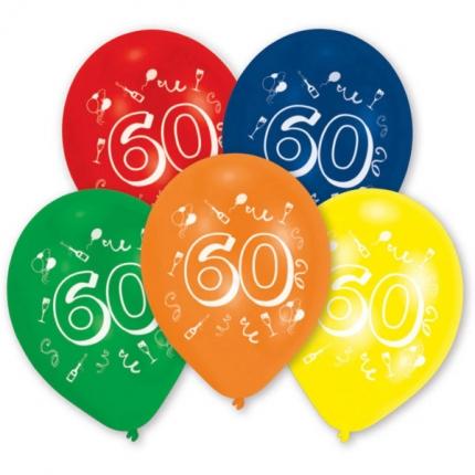 "Zahlenballon ""60"""