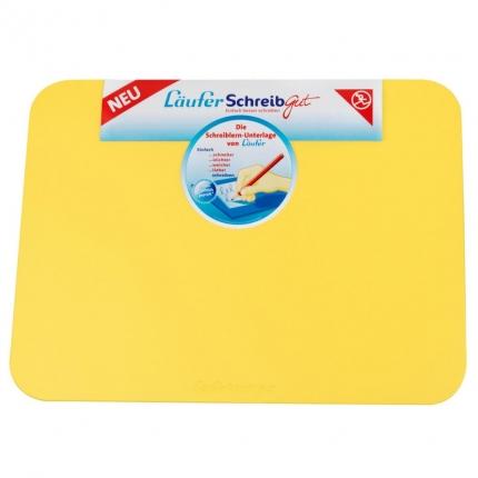 Schreiblernunterlage Läufer SchreibGut, gelb