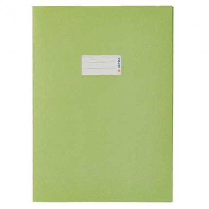 Heftschoner aus Recyclingpapier, A4 grasgrün